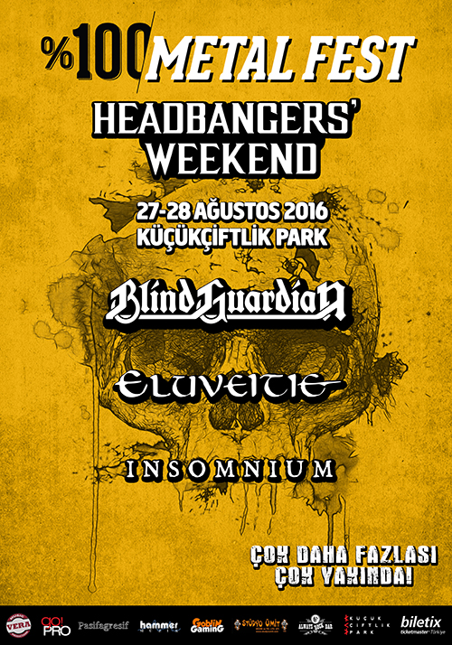 %100 Metal Fest Headbangers' Weekend 2016